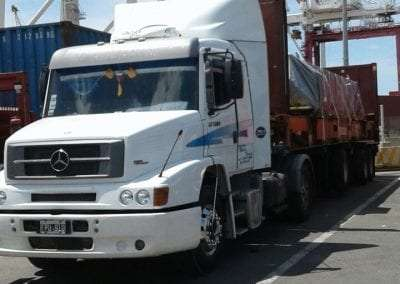 Camion Mercedes perspectiva
